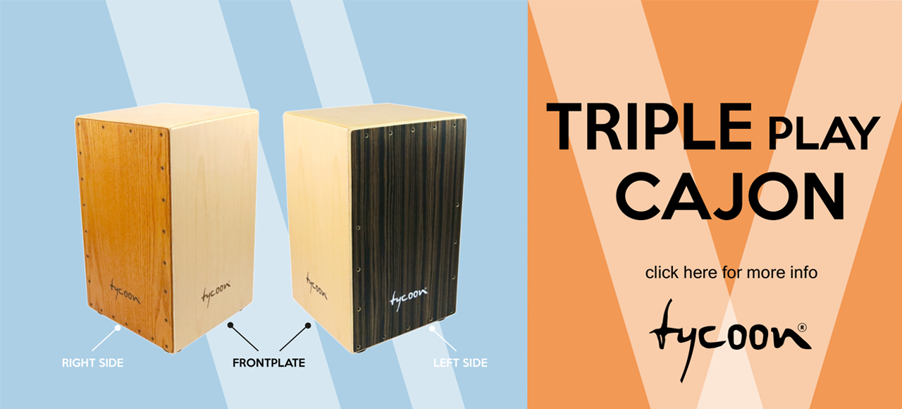Tycoon Triple-Play Cajon Slider