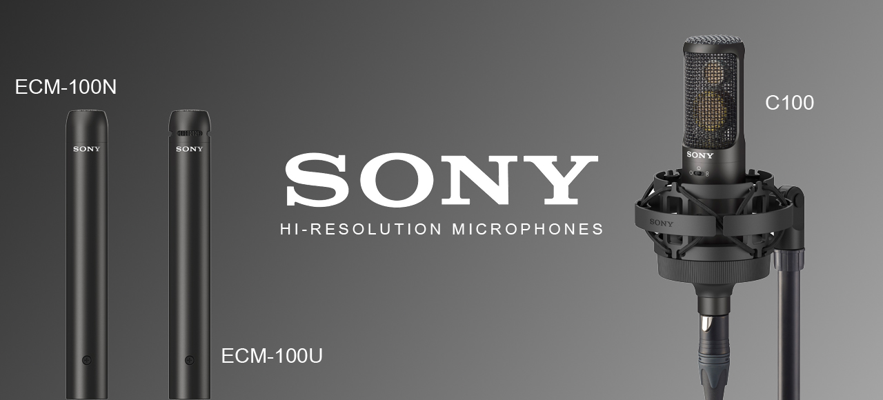 sony hi res resolution mic mics