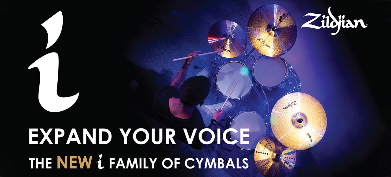 zildjian i series photo on drums